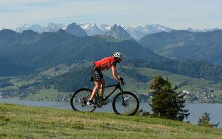 Einsiedeln –eine herrliche Bikeregion ©www.iron-bike.ch