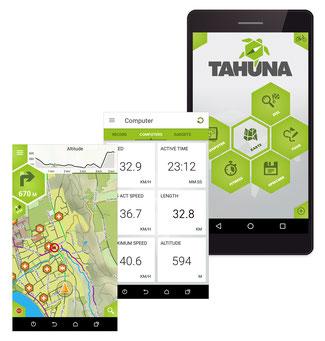 TAHUNA APP sorgt für komfortable und zuverlässige Navigation