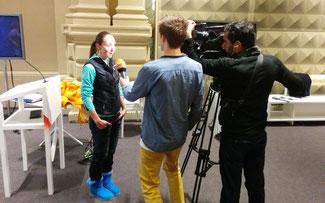 Eva Lechner im Interview ©Dr. Josef Bernhart