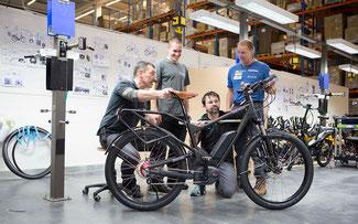 Mit Riese & Müller Bikes geht es durch China © Bosch E-Bike Systems