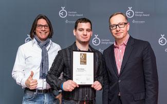 Auszeichnung mit dem German Design Award ©Asista