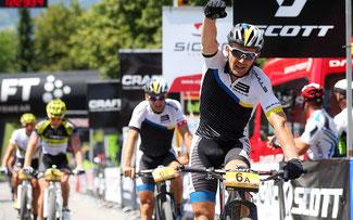 Karl Platt und Urs Huber siegten auf der ersten Etappe © Henning Angerer