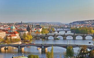 """Die """"Goldene Stadt"""" Prag ©Rückenwind Reisen"""