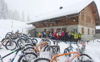 Das Snow Epic kam bei den Teilnehmern gut an ©Sportzpics/Stephan Boegli