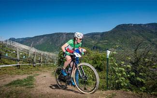 Eva Lechner bei ihrem Heimrennen in Nals ©Armin M. Küstenbrück/EGO-Promotion