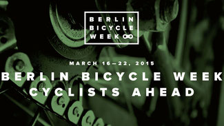 Berlin Bicycle Week vom 16. bis 22. März 2015