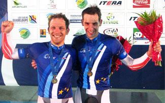 Andreas Graf und Andreas Müller sind Europameister ©Maloja Pushbikers