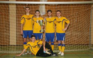 Soccercup 2013: Die siegreichen Schwarzwaldbolzer ©Erhard Goller