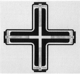 Pavillon Barcelone Mies van der Rohe colonne détail