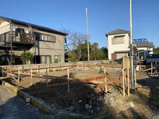 住宅基礎工事手順1