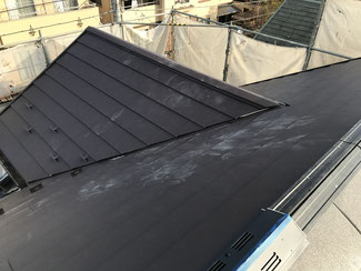 屋根材の張込