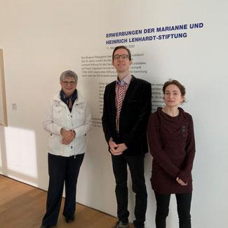 Bild: MdL Helga Lerch, Dr. Sören Fischer u. Jacqueline Michelle Rhein