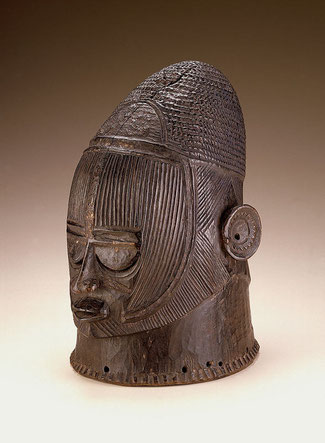 "Maschera ""odumado"" dell'etnia Igala. Smithsonian Museum of African Art, Washington, USA"