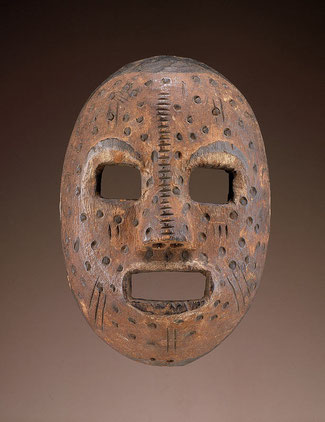 Maschera Budja conservata allo Smithsonian Museum of African Art, Washington, USA