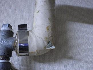 アスベスト 配管保温材 水練り保温材