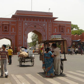 Pink City Jaipur Rundreise durch Rajasthan
