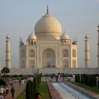 Taj Mahal Agra Rundreise Indien
