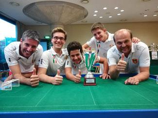 Il Messina Table Soccer campione