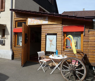 Der Raum für Göttinnenkultur in Tübingen-Lustnau, Alberstr. 8