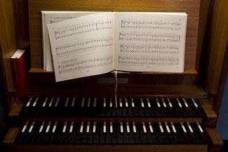 Unterricht an der Schuke/Wegmann-Orgel in Schotten