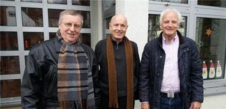 Karl-Heinz Sundheimer, Jochen Seifert und Ulrich van Bebber möchten Kindertageseinrichtungen besonders fördern. Foto: privat