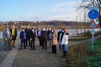 Die FDP fordert schon seit längerem eine Verbesserung des Rheinradweges insbesondere zwischen Sinzig und Bad Breisig. Positive Nachrichten aus Mainz überbrachte der Wirtschaft- und Verkehrsminister Dr. Volker Wissing