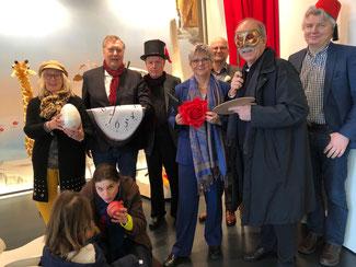Viel Spaß und tolle Eindrücke hatten die Mitglieder der FDP aus dem Kreisverband Ahrweiler, als sie die FDP-Landtagsabgeordnete bei ihrem Besuch im Arp Museum begleiteten.