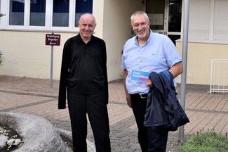 Die FDP-Vertreter im Verbandsgemeinderat Ulrich van Bebber (links) und Dirk Herminghaus wollen angesichts der Corona-Krise Bürger und Unternehmen entlasten