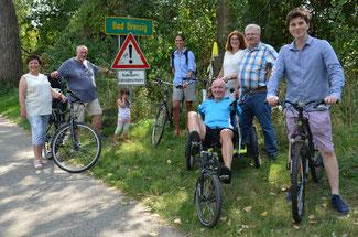Die FDP fordert schon seit längerem eine Verbesserung des Rheinradweges insbesondere zwischen Sinzig und Bad Breisig
