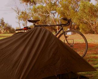 mein Zelt - immer ein guter und sicherer Schlafplatz