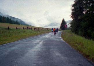 die letzten Kilometer bis Scuols hatten es in sich