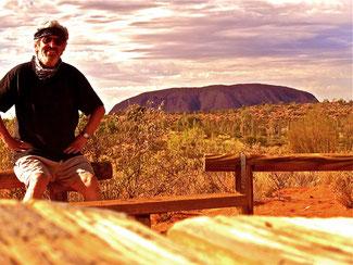 ein gewaltiges Panorama in der Mitte von Australien