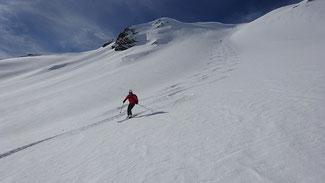 Ein Pensionist auf Skitour  bild:spagra
