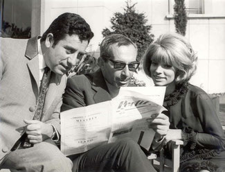 Cassen, Iquino y Encarnita Polo (archivo Sonia Sendra)
