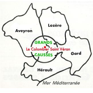 localisation-le-colombier-saint-veran-hebergement-à-proximite-du-viaduc-de-millau-gite-de-charme-avec-piscine-au-coeur-du-parc-naturel-regional-des-grandscausses-region-occitanie-france