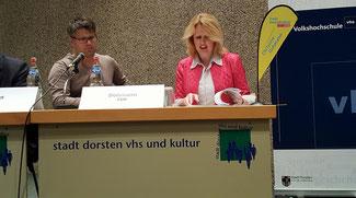 Christian Leson, Christine Dohmann (Kandidaten für den Landtag im Wahlkreis 71 & 72 Dorsten)