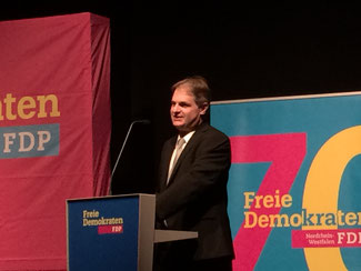 Ralf Witzel, MdL und Bezirksvorsitzender