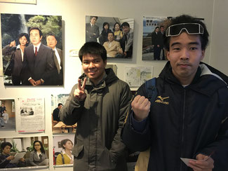 西村京太郎記念館にて ここでもの~んびり鑑賞