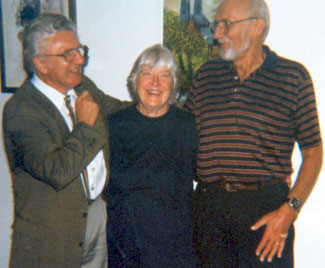 Egon Dürfeldt mit Familie Kreuzer