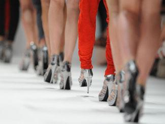 Die Berliner Fashion Week ist das Gipfeltreffen der deutschen Modewelt. Doch diesmal gibt es Absagen. Foto: Jens Kalaene