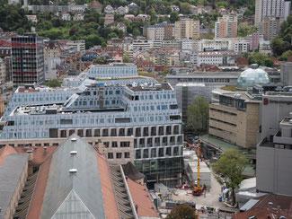 Stadtansicht von Stuttgart. Foto: Marijan Murat/Archiv
