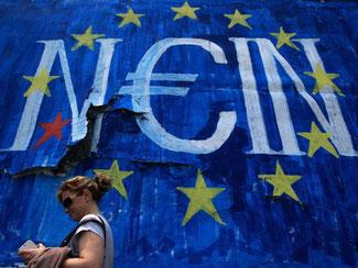 Athen hat die fällige IWF-Kreditrate nicht fristgemäß zurückgezahlt. Foto: Simela Pantzartzi