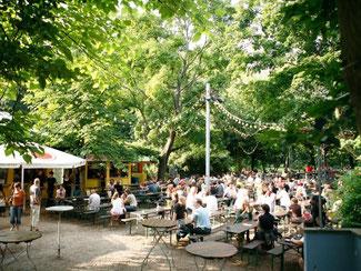 Der Stadtgarten ist Kölns älteste Parkanlage - Alfred Biolek wohnt hier gleich um die Ecke. Foto: Stadtgarten Köln/Laurence Vournard