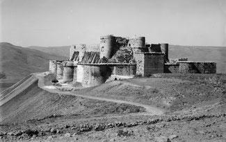 Syrie - Crac des Chevaliers en août 1936.