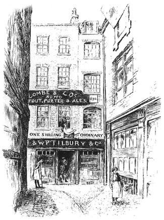 Illustration de l'auberge L'Oie et le Grill.