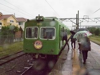 銚子電鉄(バスツアー時の写真)