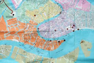 Unser GL-(Get Lost)-Stadtplan