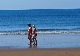 endlose Strand-Spaziergänge sind hier möglich