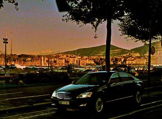 Genf am späten Nachmittag