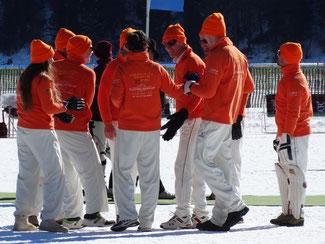 Lyceum Alpinum at Cricket On Ice in 2017